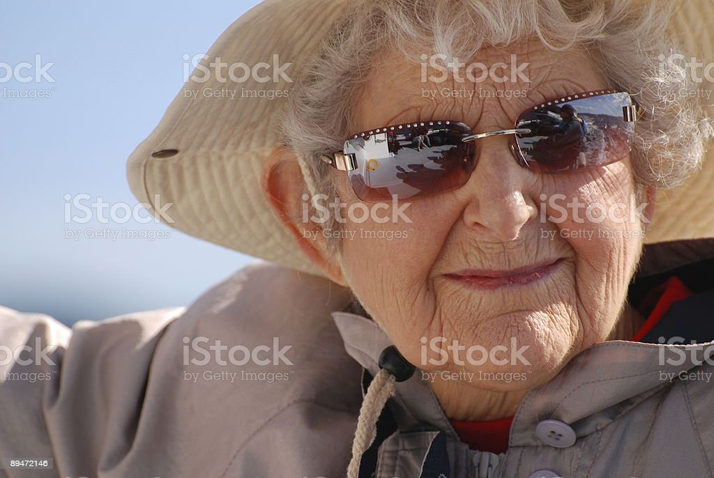 Mulher Idosos foto de stock royalty-free