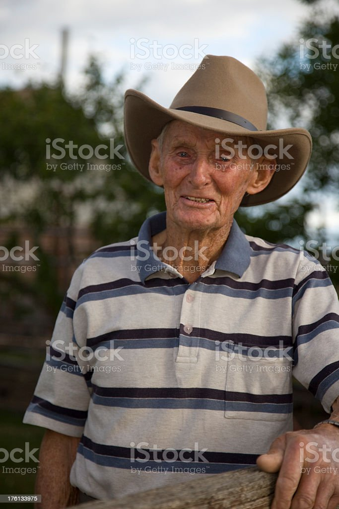 Eldery Country Man royalty-free stock photo