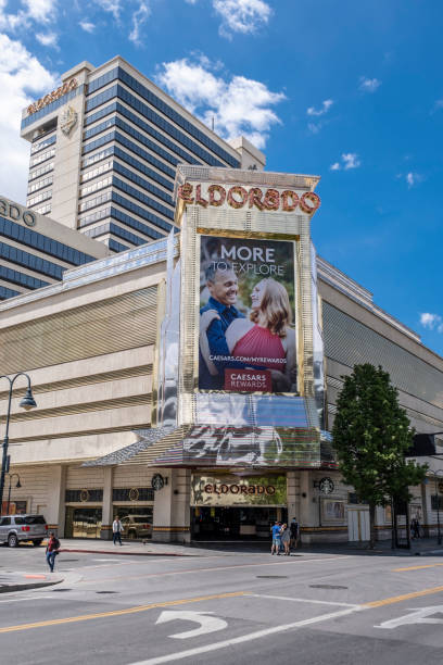 Eldorado Casino in Reno stock photo