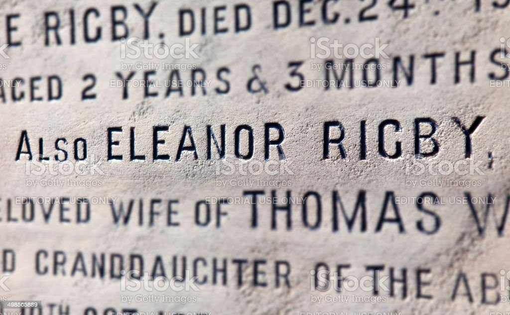 Eleanor Rigby Grab in Liverpool – Foto
