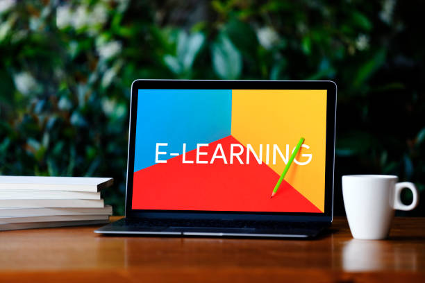 E-Learning Concept stock photo