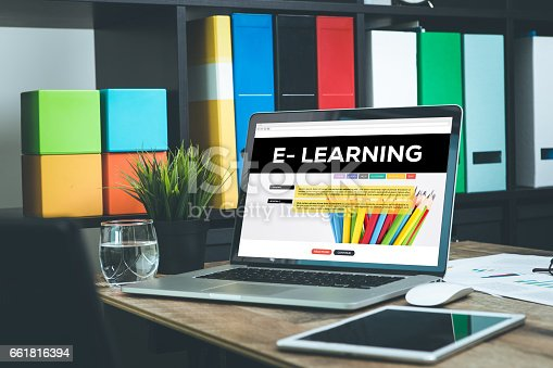 istock E-Learning Concept 661816394