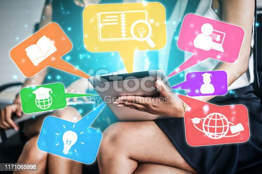 istock E-learning for Student and University Concept 1171065998