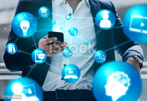 1069581886 istock photo E-learning for Student and University Concept 1173728655