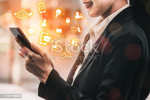 istock E-learning for Student and University Concept 1173729859