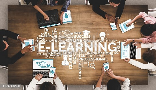 istock E-learning for Student and University Concept 1174366520