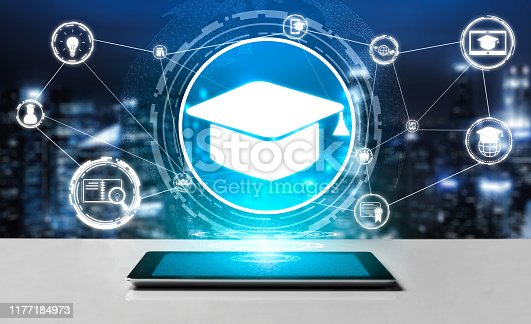istock E-learning for Student and University Concept 1177184973