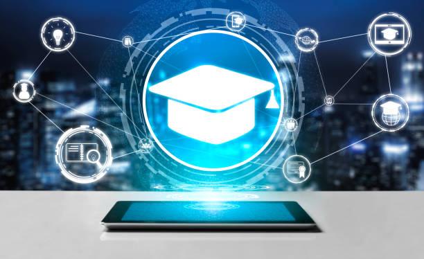 e-learning para o estudante e o conceito universitário - treino esportivo - fotografias e filmes do acervo
