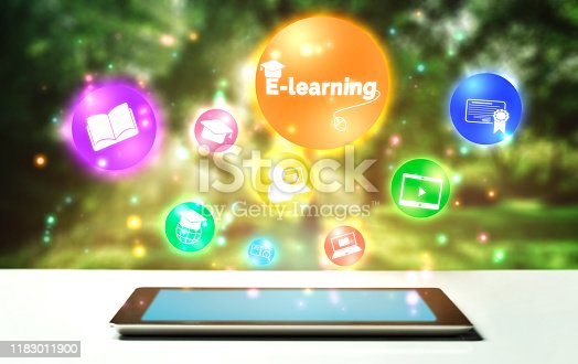 istock E-learning for Student and University Concept 1183011900