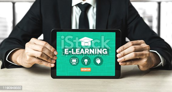 istock E-learning for Student and University Concept 1190949332