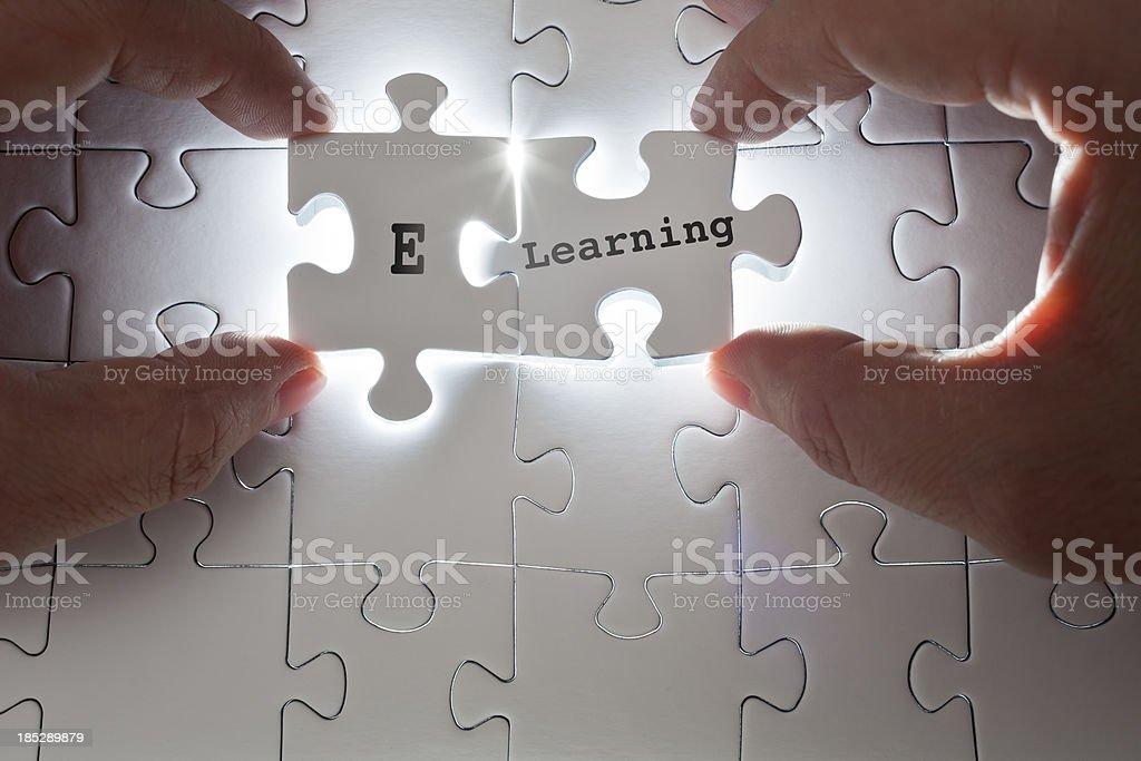 E-Learning royalty-free stock photo