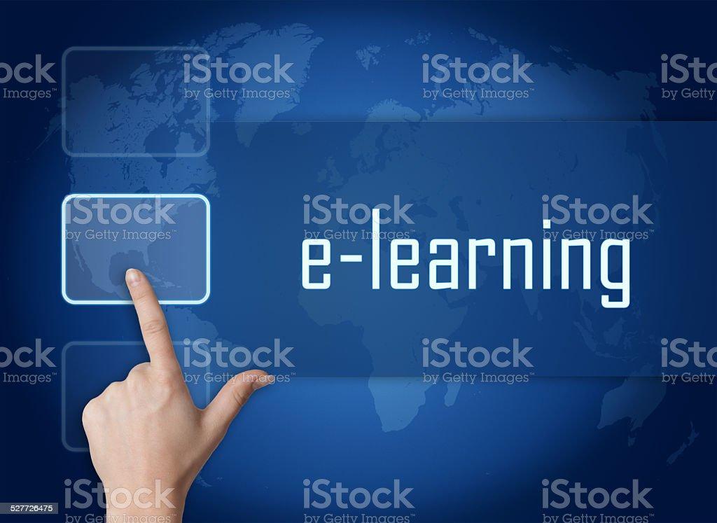 E-learning stock photo