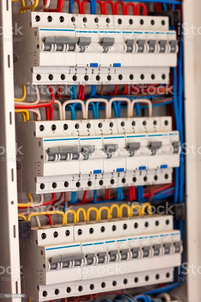 Electrical Panel Fuse Box