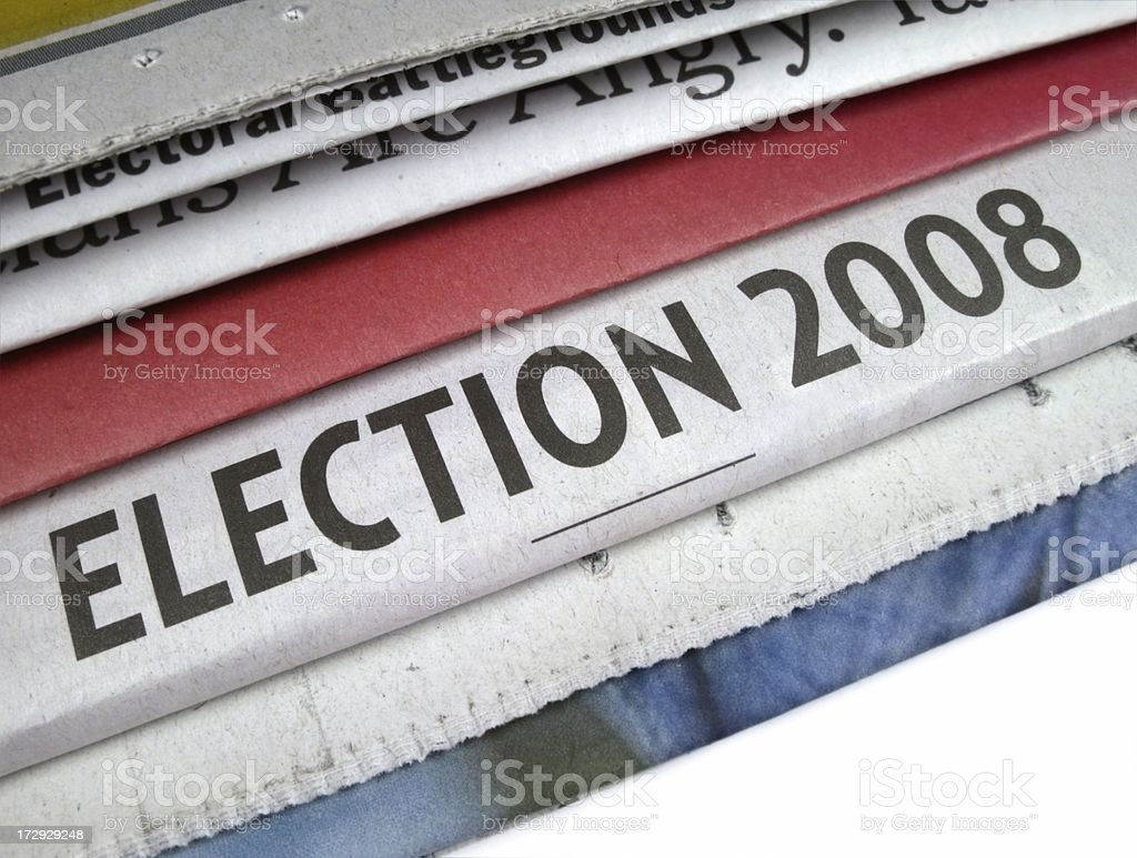 Election 2008 royalty-free stock photo