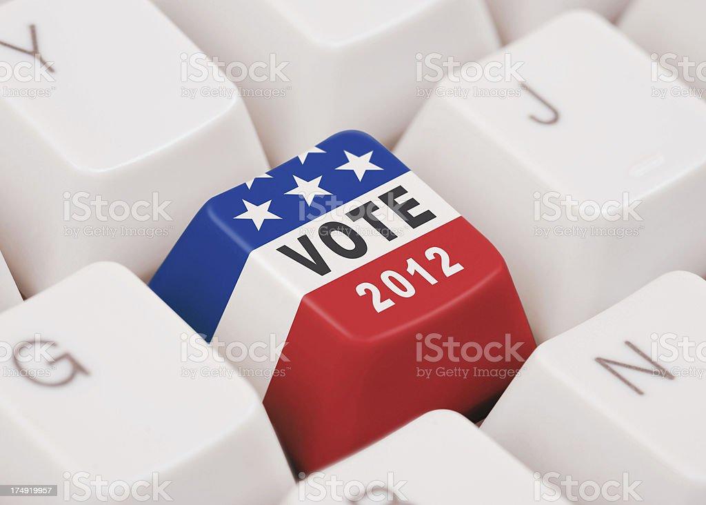 Election 2012 stock photo