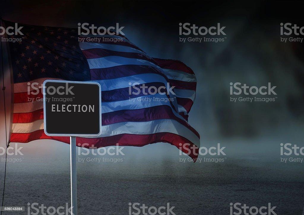 US Election 2016 royalty-free stock photo