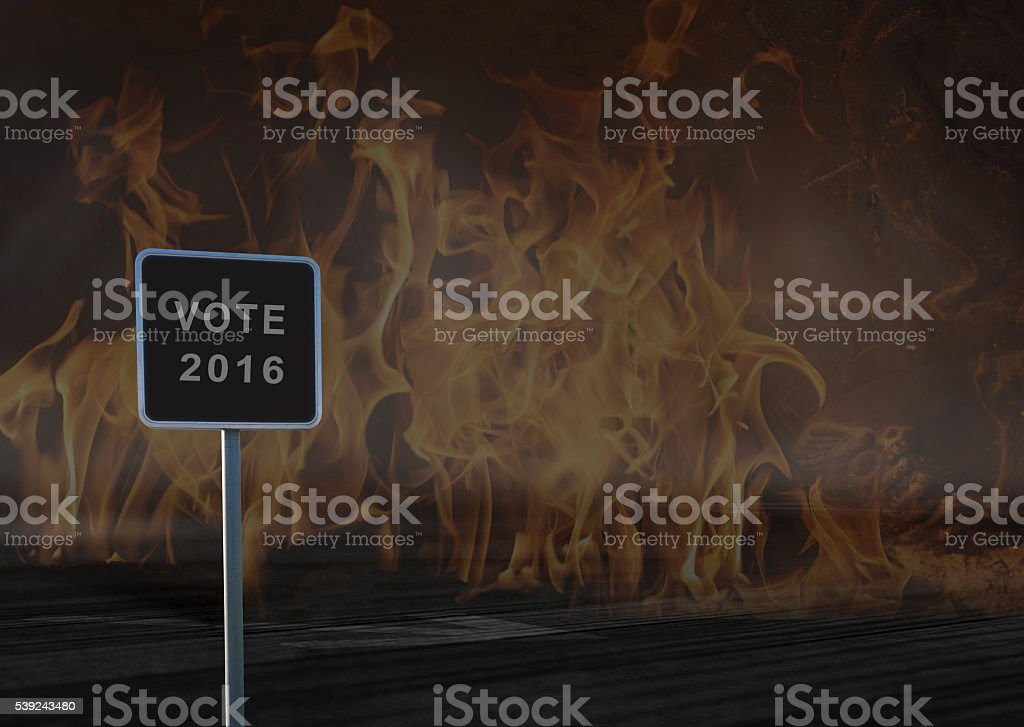 US Election 2016 royalty-free stock photo