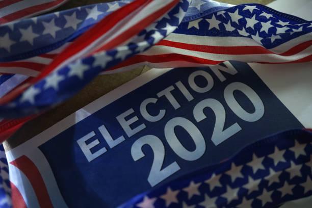 election 2020 - кандидат на пост президента стоковые фото и изображения