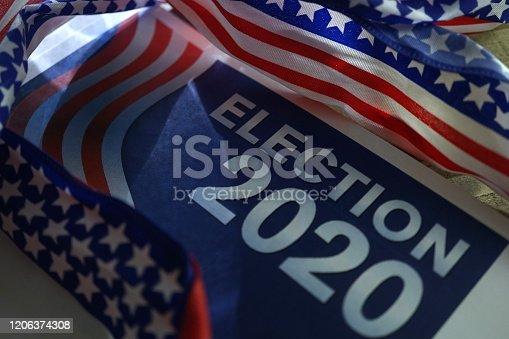 shot of election 2020