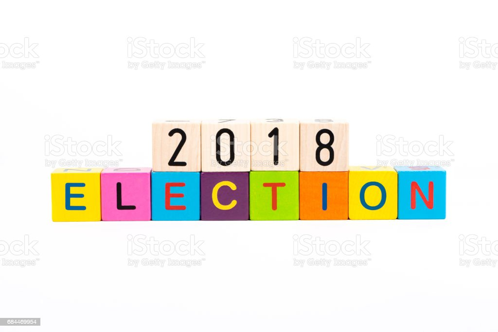election and voting stock photo