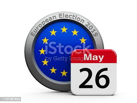 1126684642 istock photo Election Day EU 1151087634