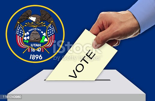 istock Election Day in the United States of America, UTAH - USA 1161240980