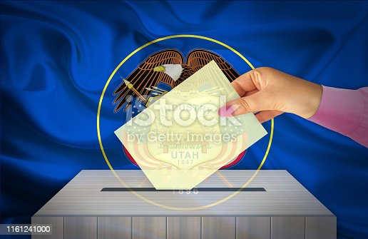 istock Election Day in the United States of America, UTAH - USA 1161241000