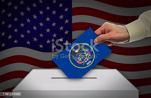 istock Election Day in the United States of America, UTAH - USA 1161241002