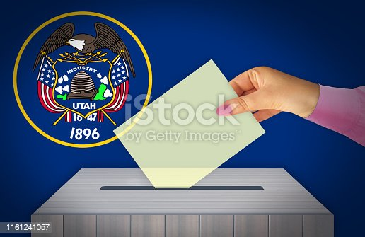 istock Election Day in the United States of America, UTAH - USA 1161241057