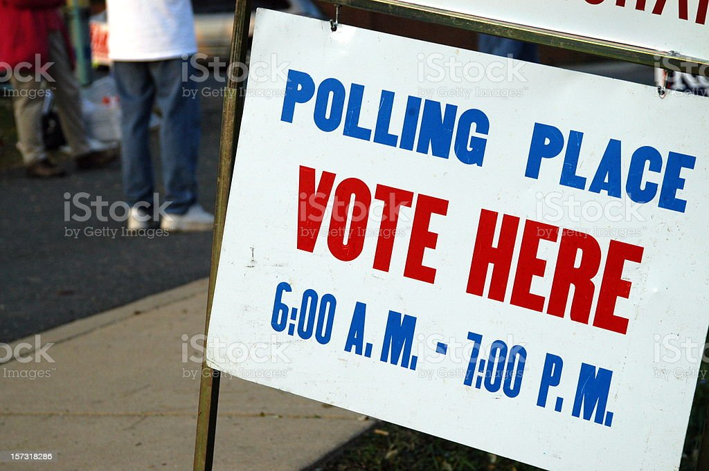 Election Day stock photo