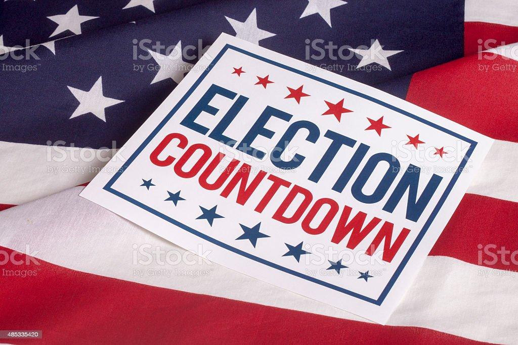 Election Day Presidential Vote stock photo