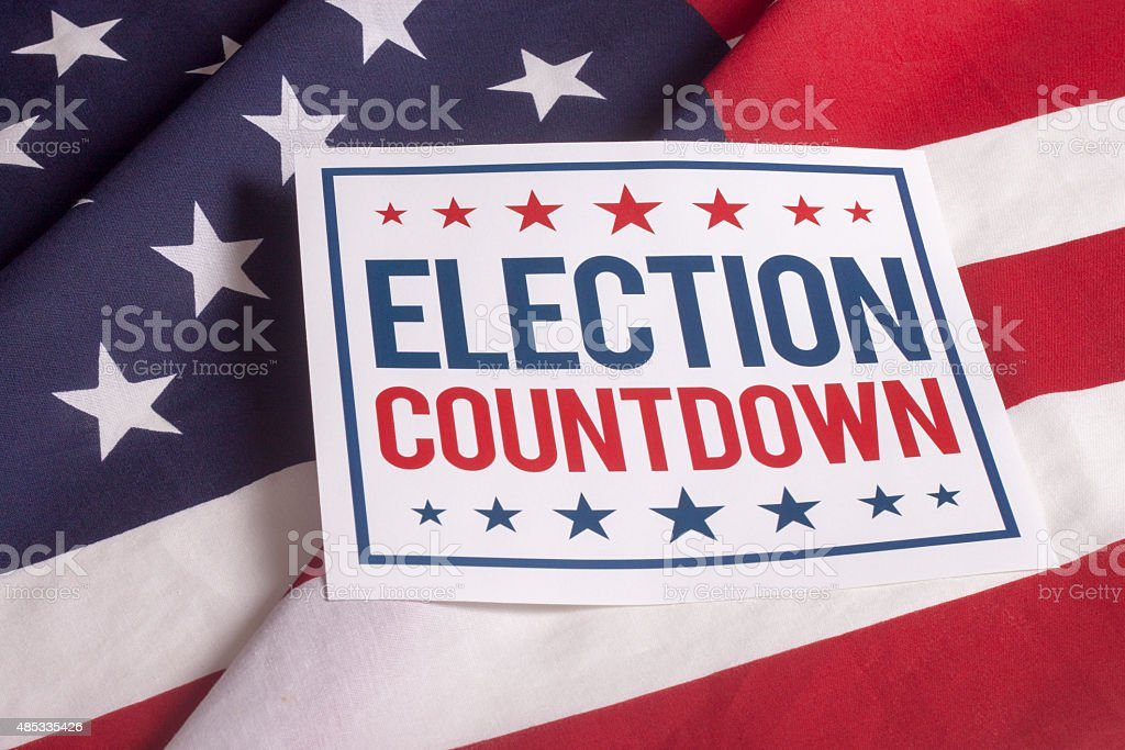 Election Day Presidential Vote stock photo