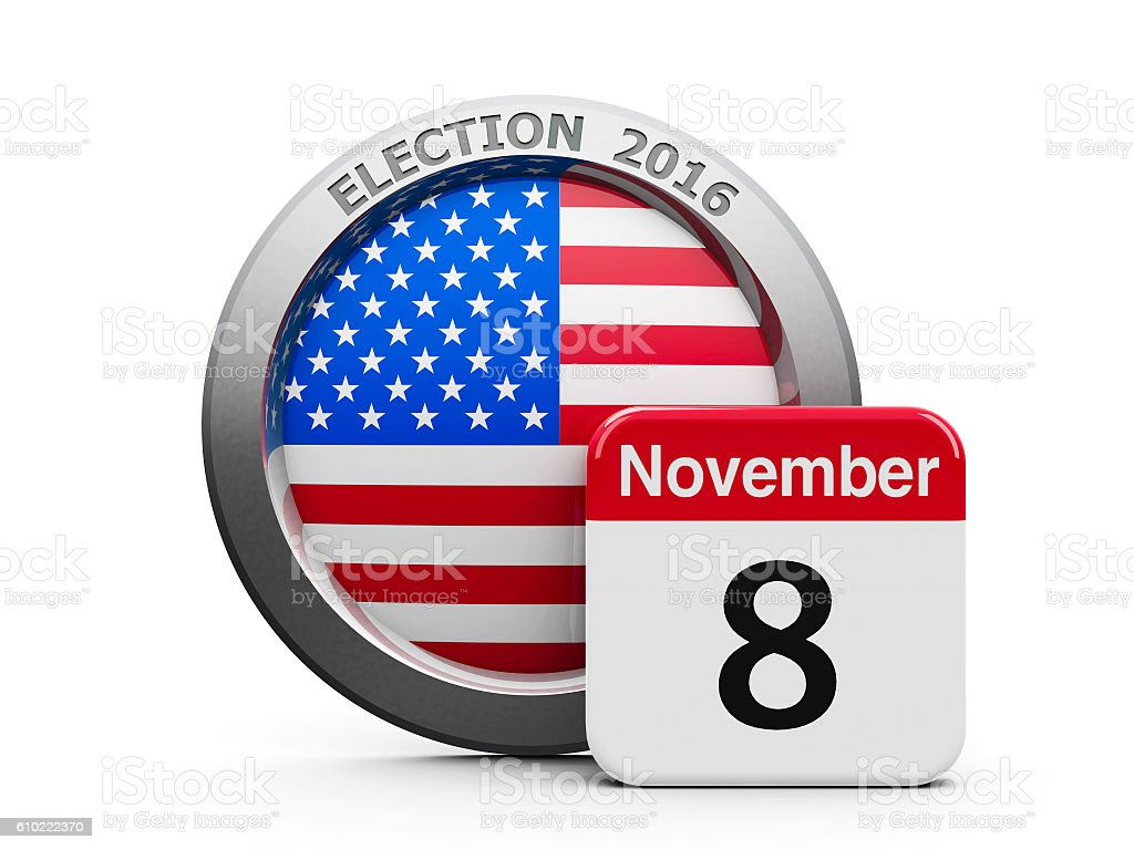 Election Day USA stock photo