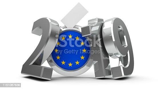 1126684642 istock photo Election European Parliament 2019 1151087636
