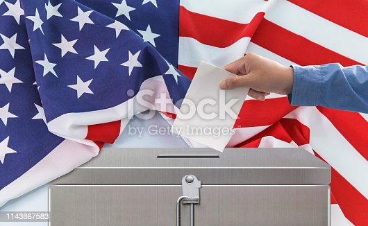 1157022917 istock photo Election in United States of America 1143867583