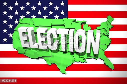 istock USA Election Map 523034278