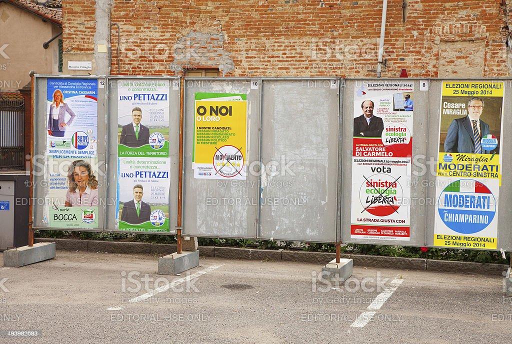 Elezione Poster - foto stock