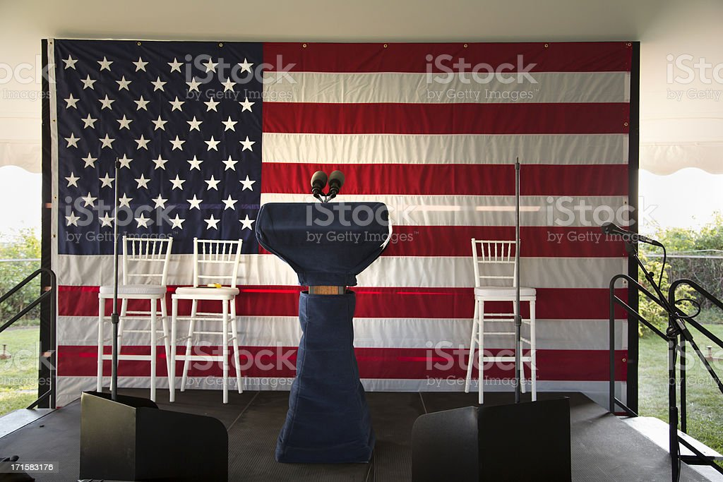 Election theme (XXXL size) stock photo