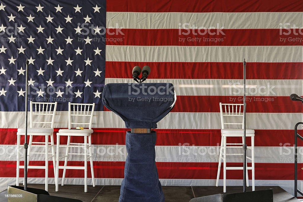 Election theme (XXXL size) stock photo