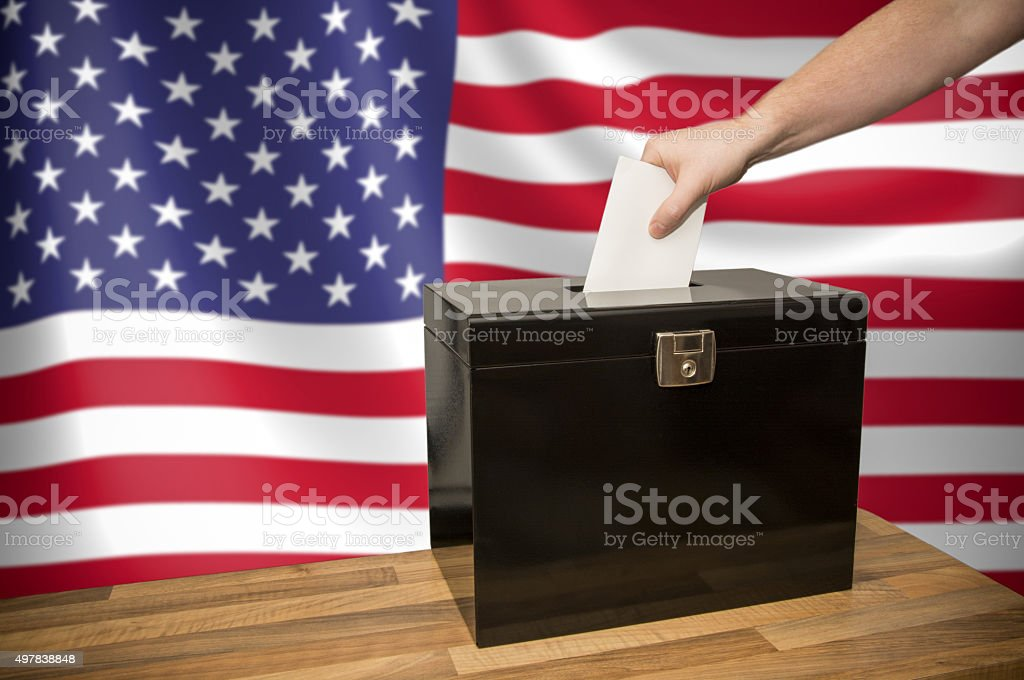 Election - USA stock photo