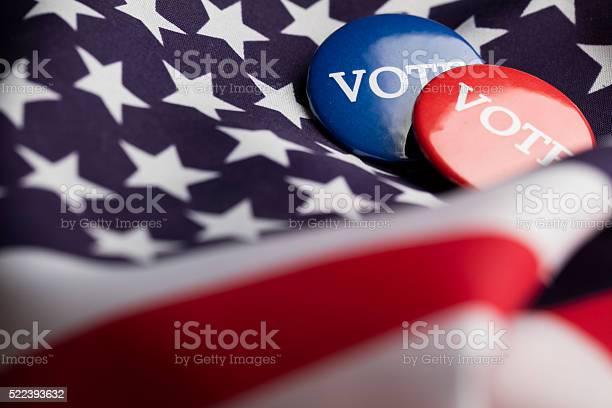 Election vote button on a stars and stripes flag picture id522393632?b=1&k=6&m=522393632&s=612x612&h=aiwljyeyf  msmufh6bbykx1pxencg3 9jejeovscu8=