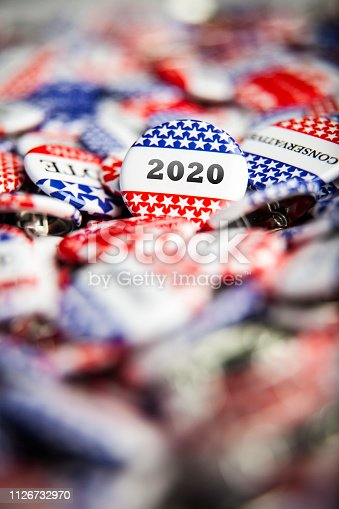 istock Election Vote Buttons 2020 1126732970