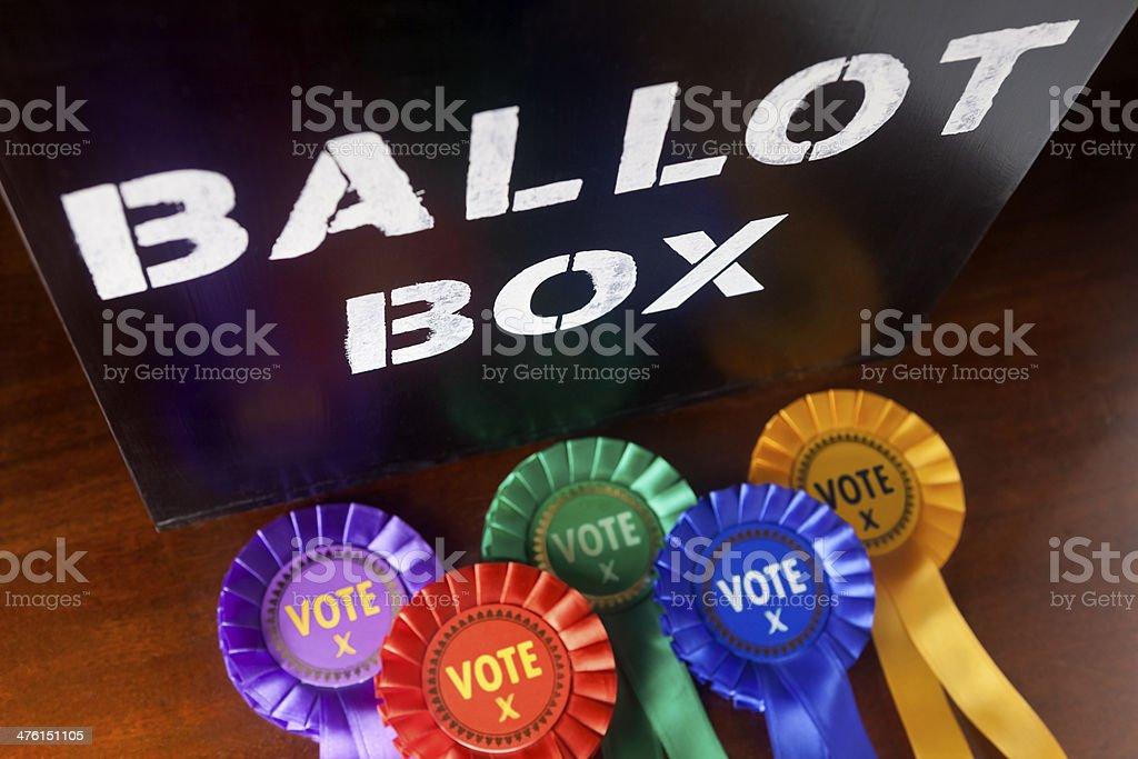 Election Votes stock photo