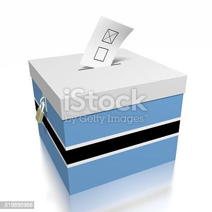 istock Election/ voting in Botswana 519895956