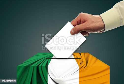 Election - voting in Ireland