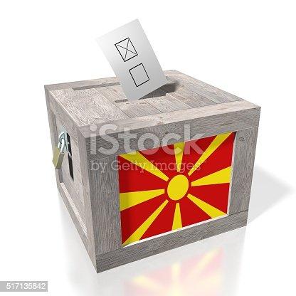 935056316istockphoto Election/ voting in Macedonia 517135842