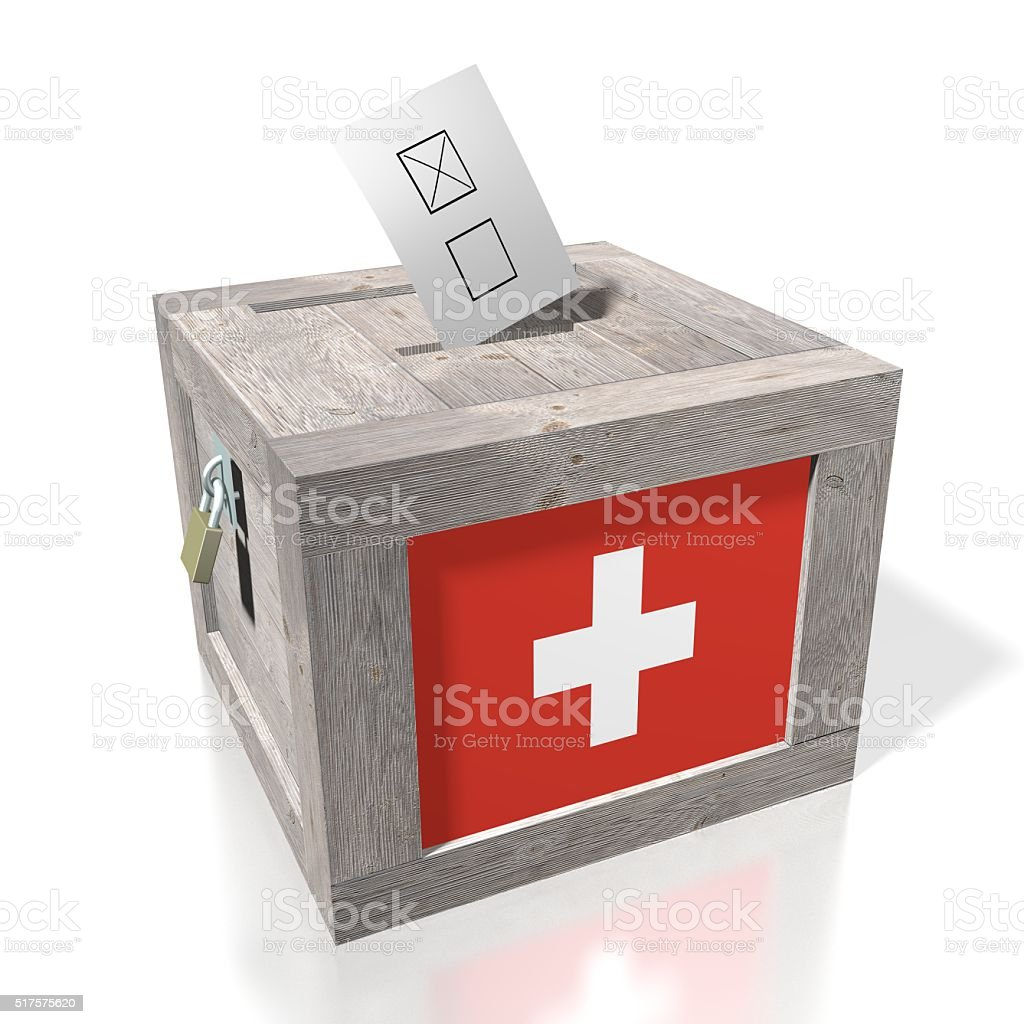 Wahl/Abstimmung in der Schweiz – Foto