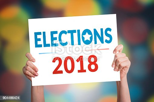 istock Elections 2018 Card 904486424
