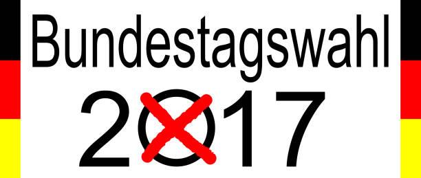 wahlen in deutschland 2017 – bundestagswahl - la union stock-fotos und bilder