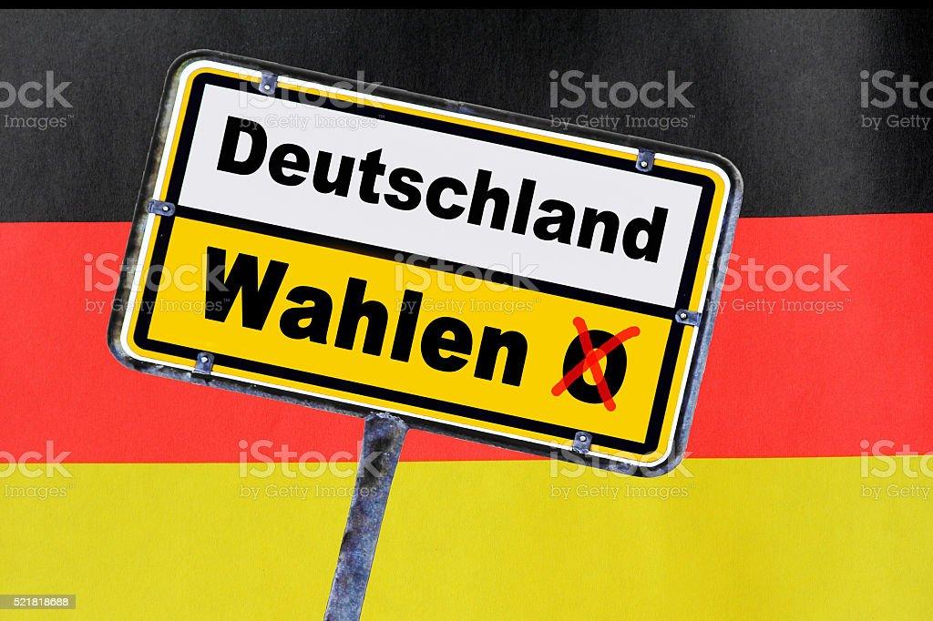 Wahlen in Deutschland – Foto